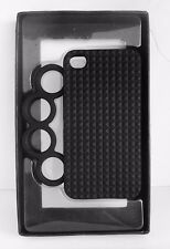 REBECCA MINKOFF Black Knuckles iPhone 4/4s Cover Case Msrp $58.00 *New in Box*