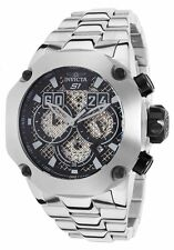 "@New Invicta 52mm S1 ""Twisted Metal"" Chronograph Stainless Steel Bracelet 19428"