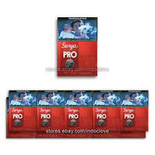 Gudang Garam Surya Pro Professional 16 Kretek Filter New Sealed Lots of 10 Packs