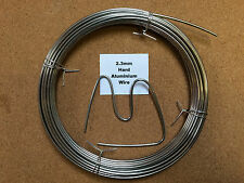 2.3mm x 10m 13 SWG Stiff Aluminium Wire Floristry Craft Making Bonsai Training
