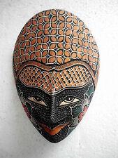 Maske Holz Orientalisch/Asiatisch Wayang Topeng Batik Bali, TPB28
