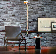 Brick Theme - 10M 3D Print Project Wallpaper Grey Rustic Stone Slate Aged Look