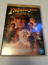 Indiana Jones And The Kingdom Of The Crystal Skull (DVD, 2008) region 2 uk dvd