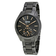 Rado Hyperchrome Dual Timer XL Touch Grey Ceramic Mens Watch R32102172