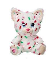 "New Build a Bear Buddies 7"" Cookie Kitty Cat Plush"