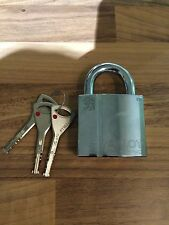 2 X ABLOY PL 340 HIGH SECURITY PADLOCK WITH 3 KEYS - NEW NEVER USED