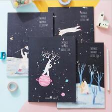 """Twinkle Star"" Exercise Book Pack of 4 Cute Lined Notebook Journal Study Planner"