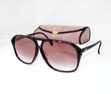 YSL yves saint laurent 31-900 black marble aviator sunglasses brown gradient 463