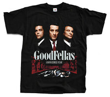 GOODFELLAS Movie ver. 2 T-shirt (Black) S-5XL