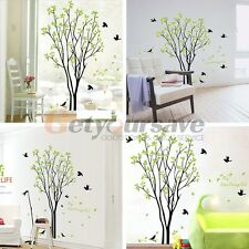 Tree Bird Quote Removable Vinyl Wall Decal Mural Home Art DIY Decor Stickers