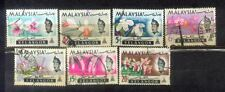 Malaya Malaysia 1965 Selangor Orchids Def Complete Set