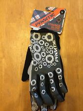 Pryme Protective Gear Strange Glove Womens Large Cycling Gloves - BMX MTB Gray