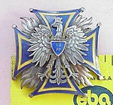 WWII SOVIET POLISH MILITARY ENAMEL SILVER BADGES MEDAL ORDER JEWELRY PIN WAR