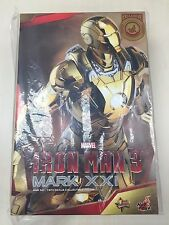 Hot Toys MMS 341 Iron Man 3 Mark XXI xxi 21 Midas (Gold Chrome Version) NEW