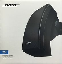 Bose 251 Environmental Speakers Black (pair)