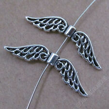 20pc Tibetan Silver Angel wings Spacer Beads Accessories Bead Findings BJ0179