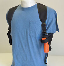 "Shoulder Holster for Springfield XDs Compact 3.3"" 9mm & 45 Pistol Dbl Mag Pouch"