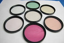 58mm TIFFEN and MARUMI  PROFESSIONAL LENS FILTERS  (LOT #2-4)