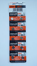 10 New Maxell LR41 AG3 392A 192 SR41 LR736 RW87 GP192 Alkaline Battery Exp 2019
