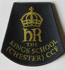 The King's School (Chester) CCF Cadets Arm Badge - new