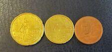 2, 10 + 20 Cent Euro Münze Frankreich Prägejahr 2010 aus Umlauf Sammlerstück!