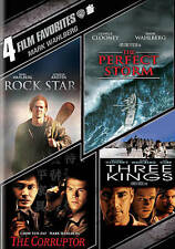 Mark Wahlberg 4 Film Favorites DVD Set Rock Star/The Perfect Storm/Three Kings