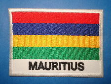 Mauritius Mauritian Embroidered Flag Patch Brand New