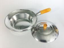 Thai Aluminium Baked Pot Handle Wood Cookware Glass Noodle Lid Mussel Soup