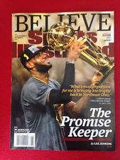 Lebron James Sports Illustrated June 27, 2016 Cavaliers NBA Champions-NO LABEL