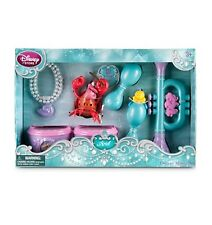 Disney Store Princess Ariel Deluxe Figure Music Play Set Little Mermaid 6pc Gift