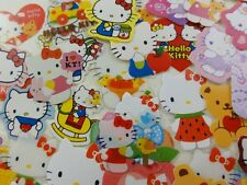 50 Sanrio Hello Kitty flake sack stickers embellishment planner journal cute