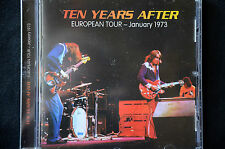 Ten Years After European Tour January 1973 CD New