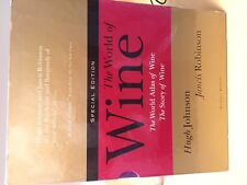 The World of Wine - The Story of Wine Set by Hugh Johnson and Jancis Robinson...