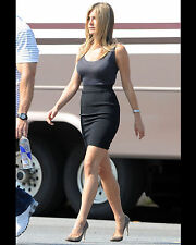 JENNIFER ANISTON 8X10 PHOTO PICTURE PIC HOT SEXY LITTLE TOP TIGHT SKIRT CANDID 6
