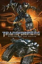 2009 HASBRO TRANSFORMERS REVENGE OF THE FALLEN MOVIE POSTER MEGATRON 22x34 NEW