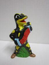 Madel Salamander Lurchi quitscher personaje versión antigua con akordeon 10 cm