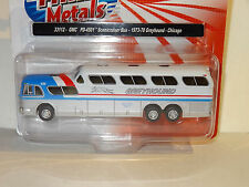 CMT 1973-78 GREYHOUND PEPSI GMC PD-4501 SCENICRUISER BUS CHICAGO 1:87 A30