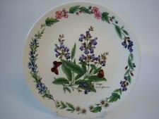 ROYAL WORCESTER HERBS COLLECTOR PLATE SAGE BOXED