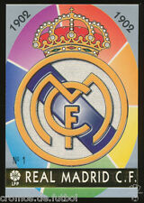 #1. ESCUDO (Error) - Real Madrid CF  1997/1998 - CARD Mundicromo