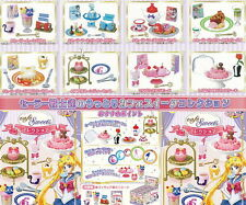 Miniature Toy Cafe Sweets Collection 8 types sets - Sailor Moon - re-ment