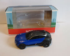 Norev Minijet Showroom Peugeot Concept Car Quartz blue Brand new. 3 inches