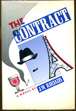 The Contract by J. W. Rhoads-First American Edition/DJ-1986