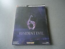 Resident Evil 6 Paperback Guide Brady Games Covers Xbox 360 & PS 3