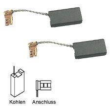 Kohlebürsten für Bosch AKE 350 B, AKE 400 B, GKE 35 BC - 6,3x12,5x22mm (2055)