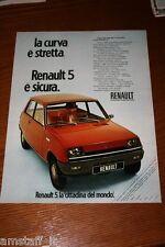 AD16=1972=RENAULT 5=PUBBLICITA'=ADVERTISING=WERBUNG=