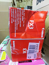 Lot Of 2 Canon FX3  Genuine Toner Cartridge CFX-L3500 IF open box/sealed bag