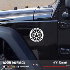 Rogue Squadron - Star Wars Rebel Alliance X-wing Car Vinyl Sticker Decal