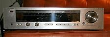 Luxman R-404 Synthesized Stereo AM/FM Receiver (1985) Duo Beta Silver Face