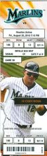 2010 Marlins vs Astros Ticket: Cody Ross and Hector Luna hit back-to-back homers