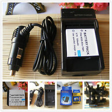 Battery + Charger for KODAK EasyShare M1063 MD1063 MX1063 M1073IS Digital Camera